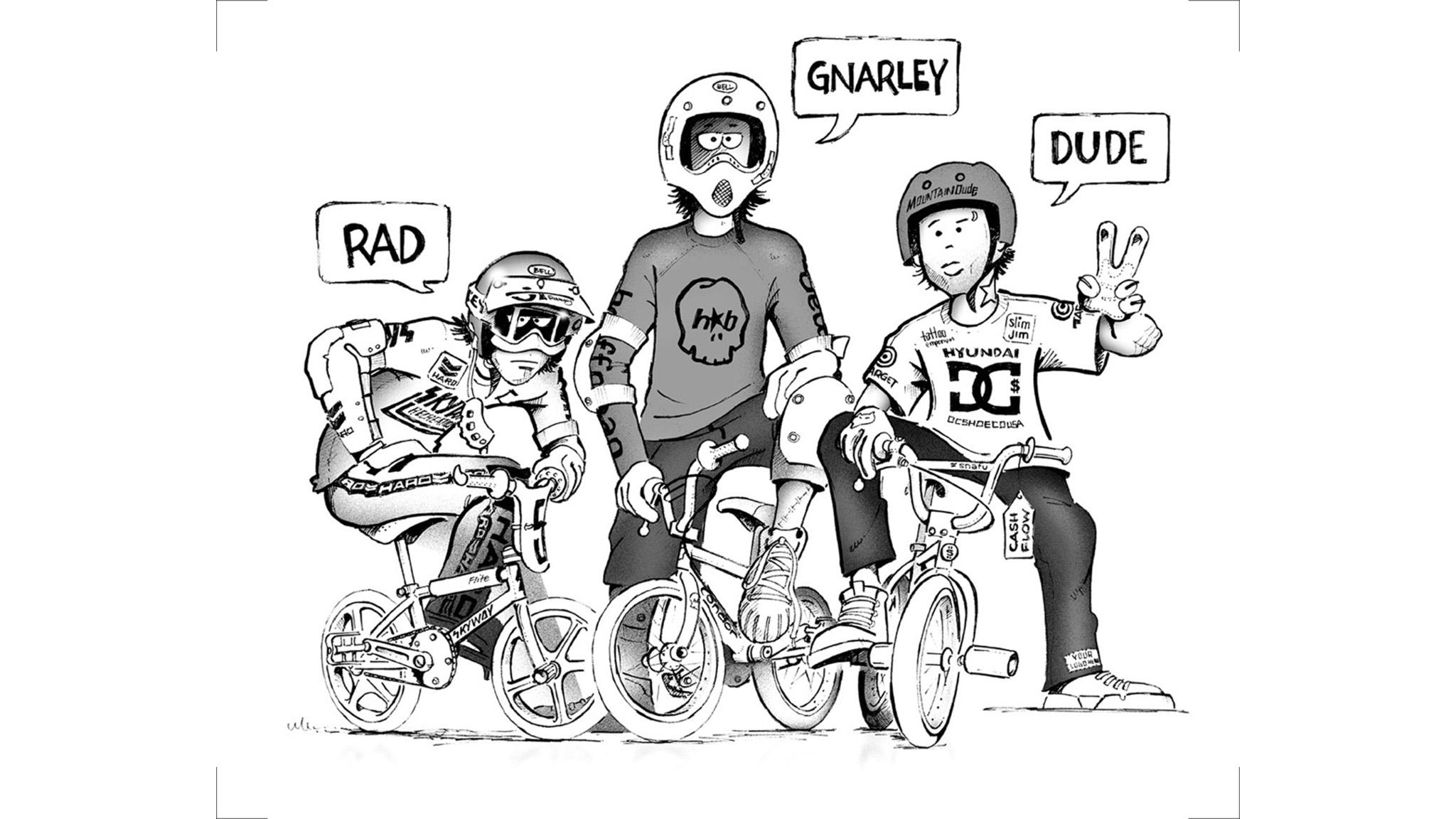 BMX artwork