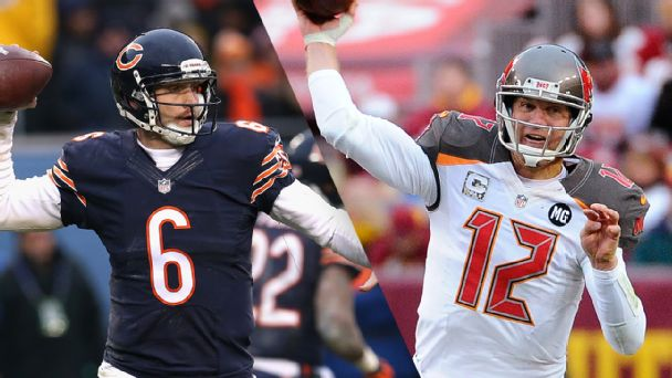 Jay Cutler and Josh McCown