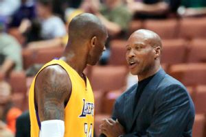 Byron Scott and Kobe Bryant