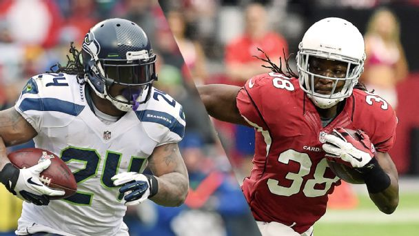 Marshawn Lynch, Andre Ellington