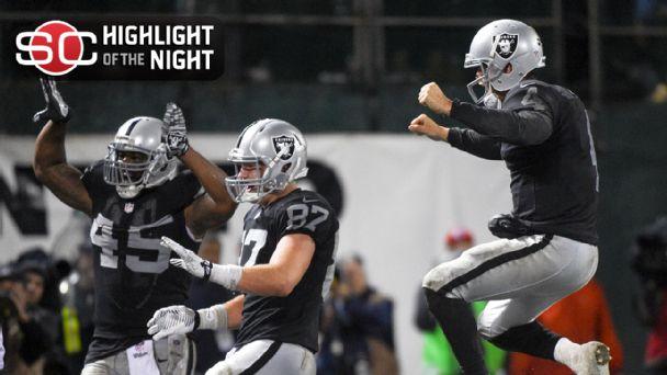 Oakland Raiders win