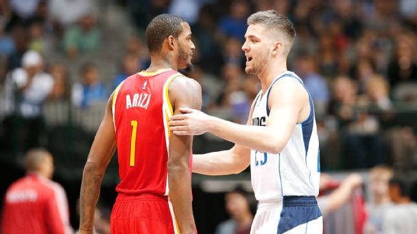 Chandler Parsons and Trevor Ariza