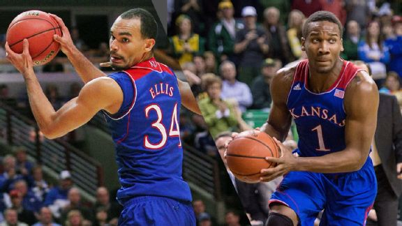 Perry Ellis and Wayne Selden, Jr.