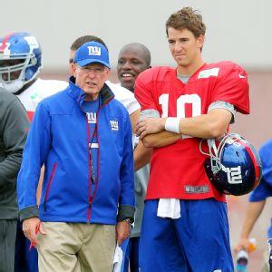 Tom Coughlin, Eli Manning