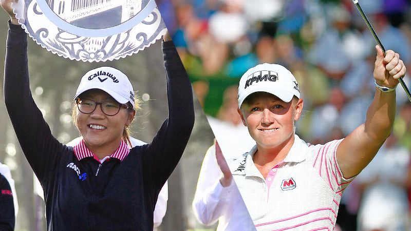 Lydia Ko and Stacy Lewis