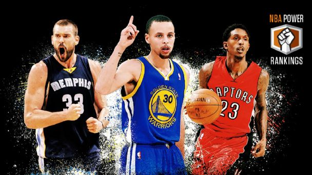 Marc Gasol, Stephen Curry & Lou Williams