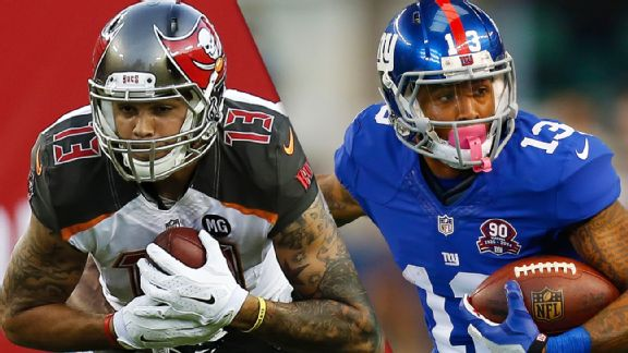 Mike Evans, Odell Beckham Jr.