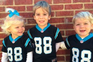 Greg Olsen's children: Talbot, left, Tate and T.J.
