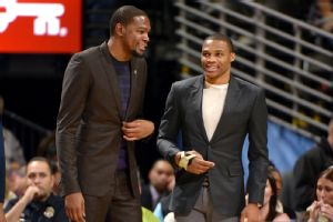 Russell Westbrook back for Thunder