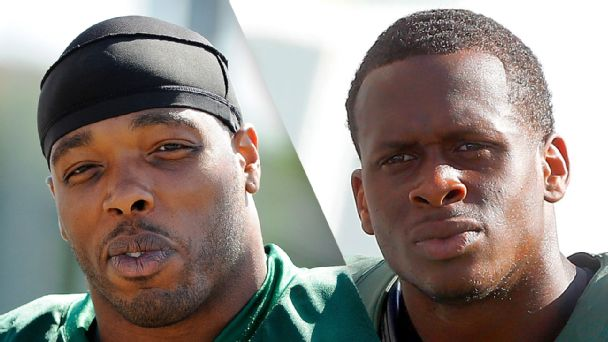 Calvin Pace and Geno Smith