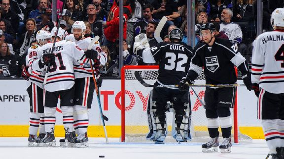 Los Angeles Kings lose