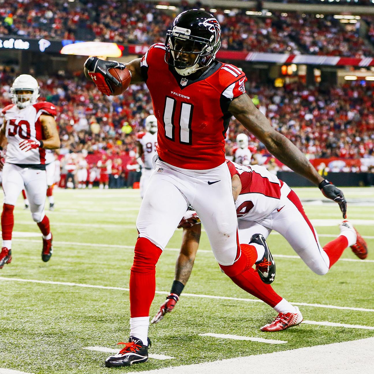 Falcons turning focus to Julio Jones extension