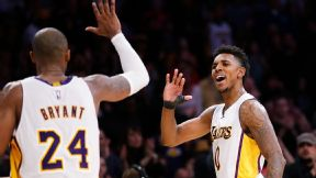 Kobe Bryant and Nick Young