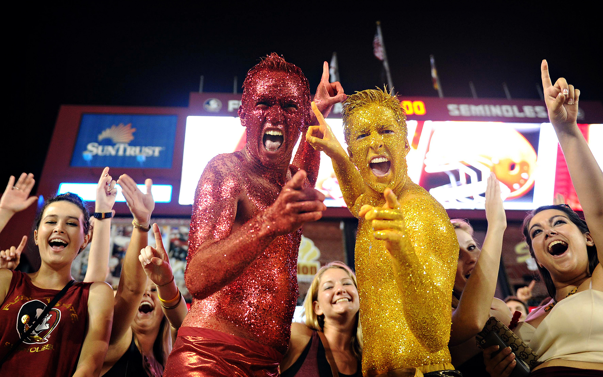 Garnet And Gold Guys - Friday Funnies: College Football Fans - ESPN Fsu Football Stadium