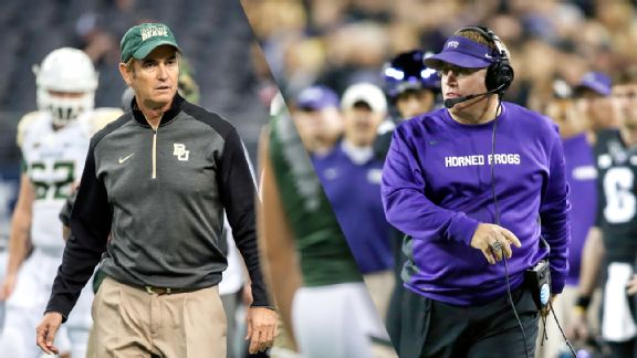 Art Briles, Gary Patterson