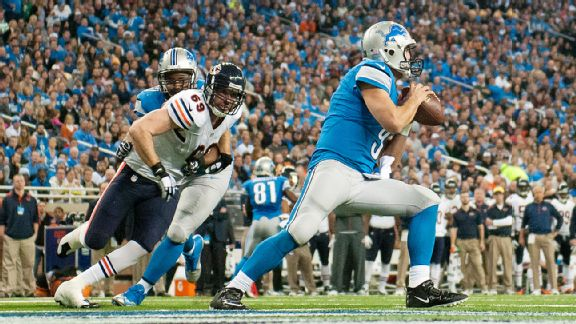 Jared Allen, Matthew Stafford
