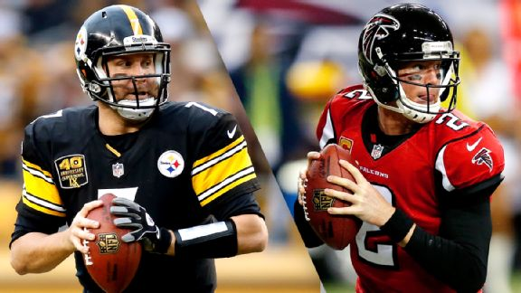 Ben Roethlisberger, Matt Ryan