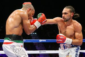 Keith Thurman and Leonard Bundu