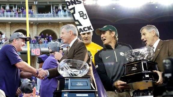 Gary Patterson, Bob Bowlsby, Art Briles