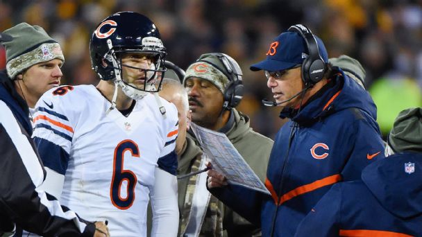 Jay Cutler and Marc Trestman