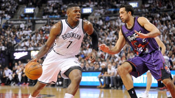 Joe Johnson and Landry Fields