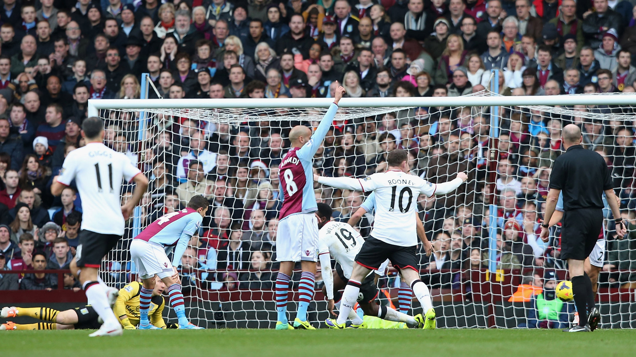 For Manchester United Villa Park Has Been A Happy Hunting Ground