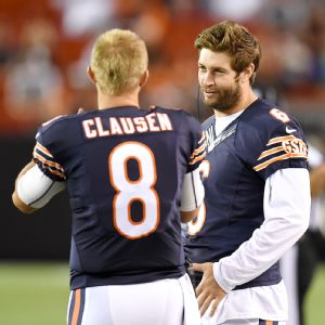 Jay Cutler and Jimmy Clausen