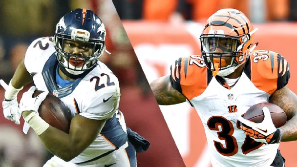 C.J. Anderson and Jeremy Hill