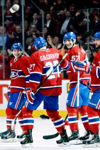 Alex Galchenyuk, Max Pacioretty, Brendan Gallagher