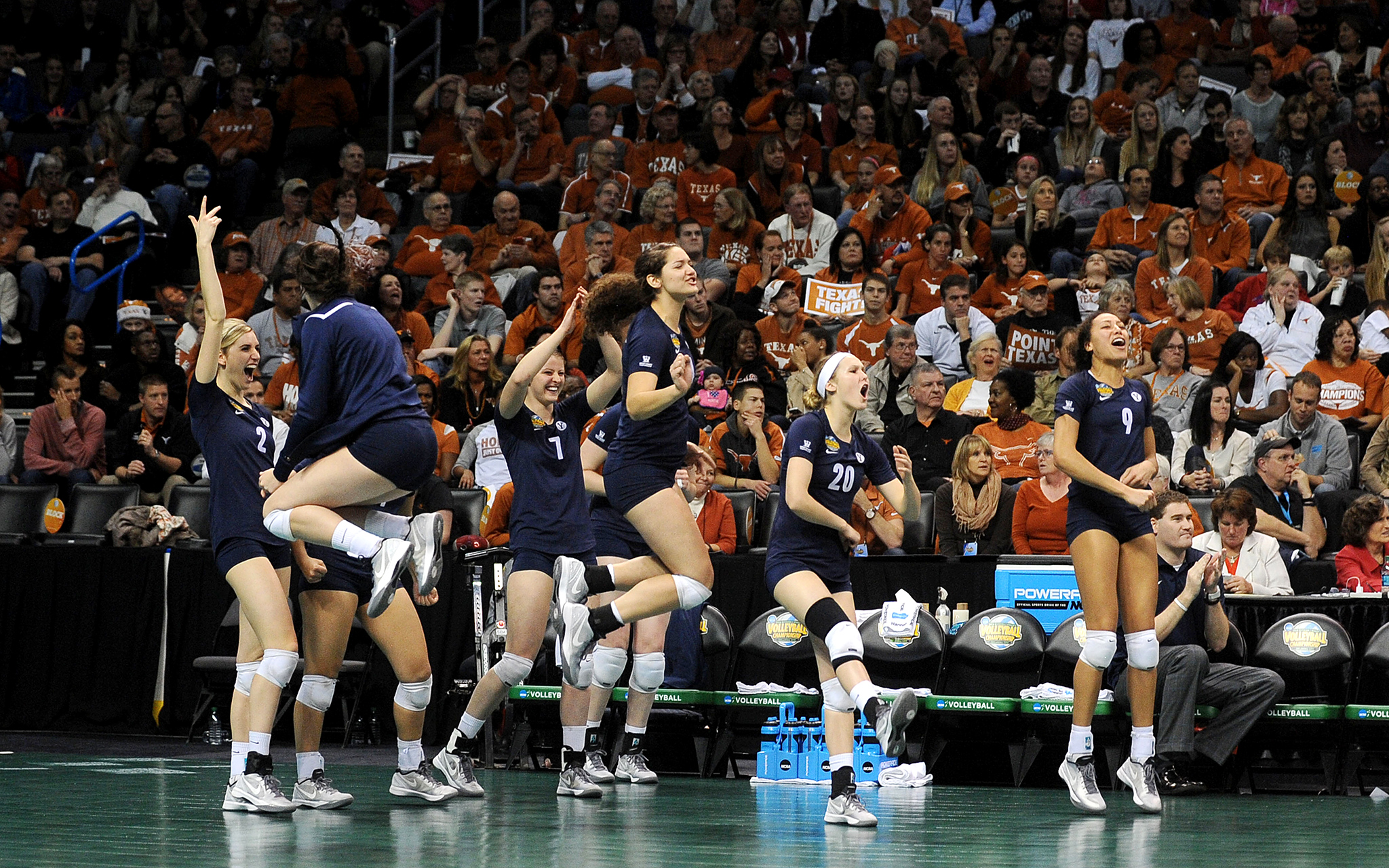 NCAA Volleyball Semifinals: BYU Advances