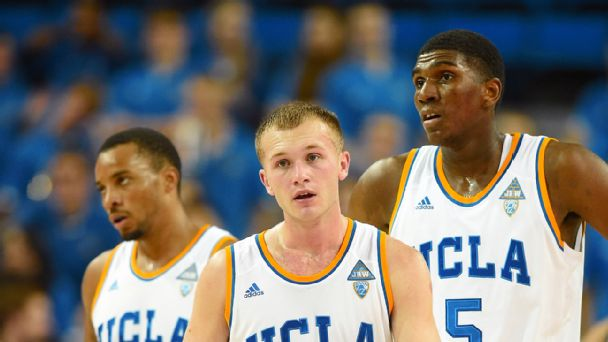 Bryce Alford, Norman Powell and Kevon Looney