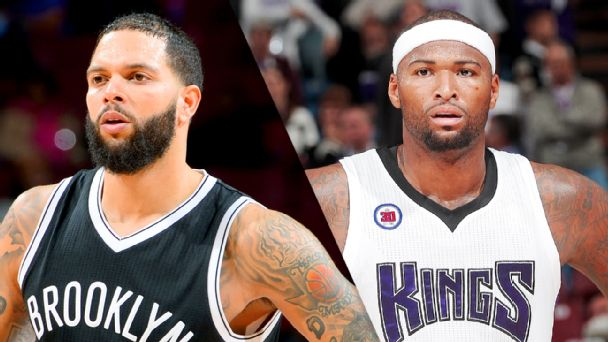 Deron Williams and DeMarcus Cousins
