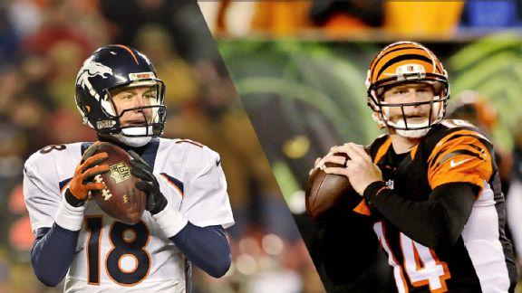 Andy Dalton, Peyton Manning