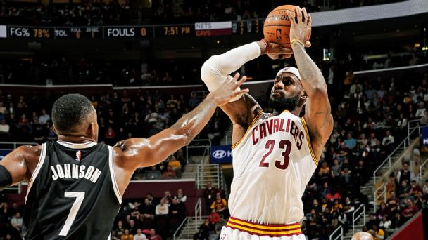 LeBron James, Joe Johnson