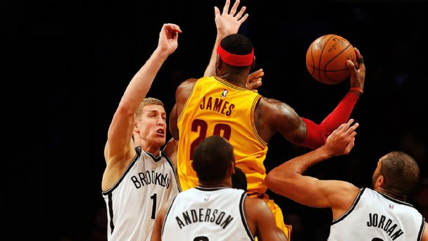 Mason Plumlee, Lebron James