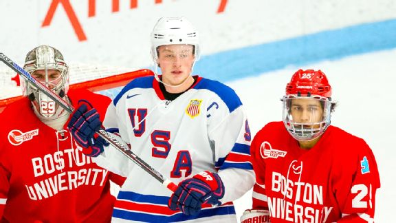 WJC: BU, Team USA All-in On Jack Eichel