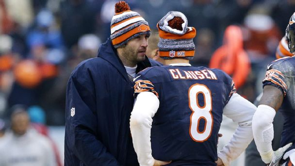 Jay Cutler, Jimmy Clausen