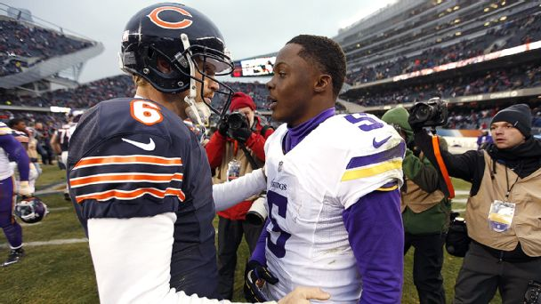 Jay Cutler and Teddy Bridgewater