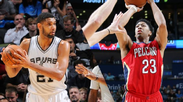 Tim Duncan and Anthony Davis