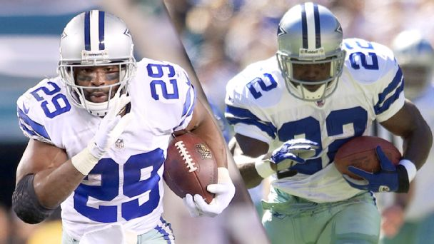 DeMarco Murray and Emmitt Smith