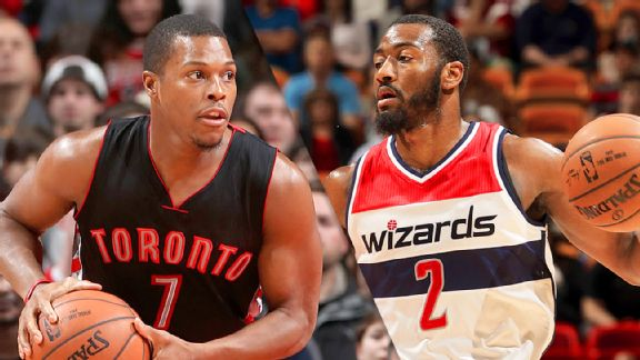 Kyle Lowry and John Wall