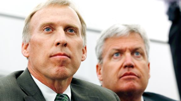 John Idzik and Rex Ryan