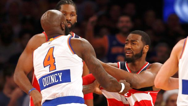 Quincy Acy and John Wall