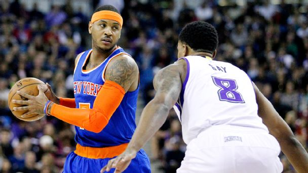 Carmelo Anthony, Rudy Gay