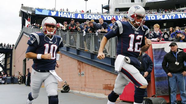 Jimmy Garoppolo, Tom Brady