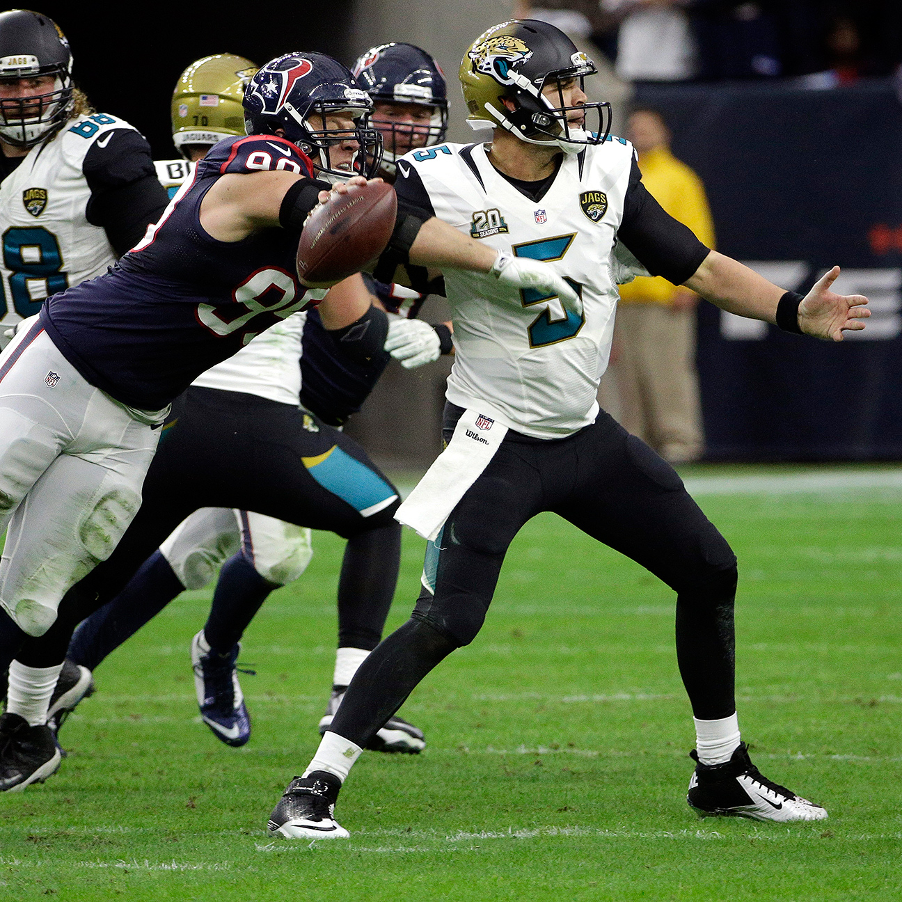 Jaguars appear to be down the list for 'Hard Knocks'