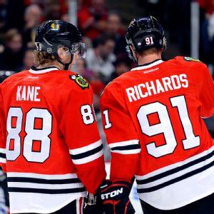 Patrick Kane and Brad Richards