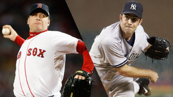 Curt Schilling and Mike Mussina
