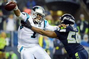 Cam Newton, Cliff Avril