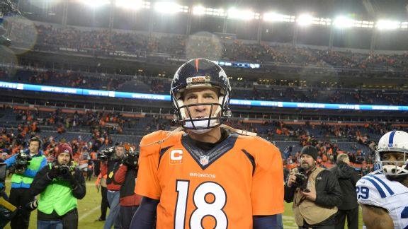 Index: Peyton Manning leaving field